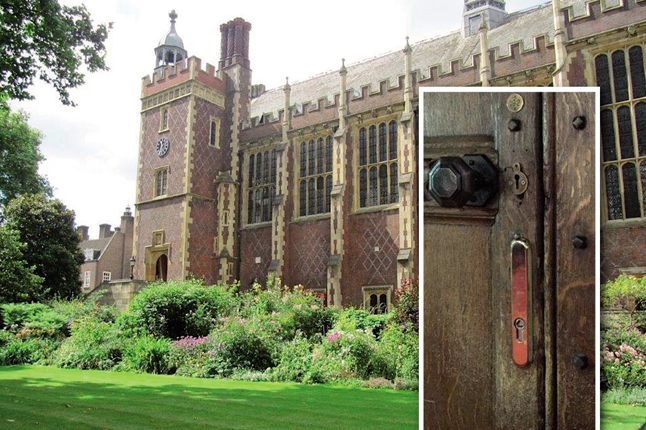 Locken sécurise l'institution Lincolns'Inn à Londres